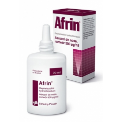 AFRIN 0,05% = 0,5 MG/1 ML AEROZOL 20 ML