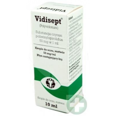 VIDISEPT 5% KROPLE DO OCZU 10 ML