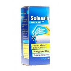 SOLNASIN 0,65% KROPLE DO NOSA 10 ML