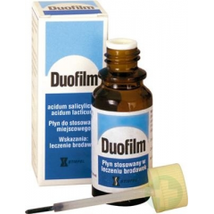 DUOFILM  PŁYN 15 ML