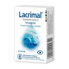 LACRIMAL 1,4% KROPLE DO OCZU 2 x 5 ML