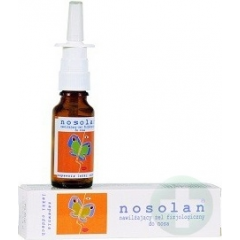 NOSOLAN  ŻEL DO NOSA 20 ML