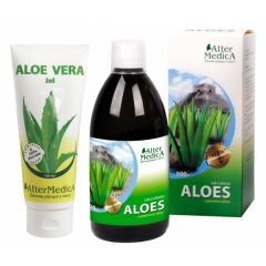 ALTER MEDICA ALOES SOK Z ALOESU 99,7% 500 ML