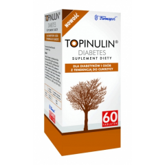 TOPINULIN DIABETES, 60 TABLETEK