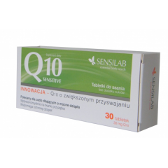 SENSILAB Q10 SENSITIVE TABLETKI DO SSANIA  30 TABLETEK