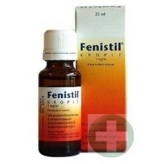 FENISTIL, KROPLE 20 ML