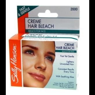 Sallys facial hair bleach your place