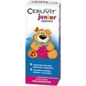 CERUVIT JUNIOR (CERUTIN) SYROP SMAK MALIN 120 ML