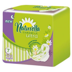 Naturella, podp.,Ultra Night,  7 szt
