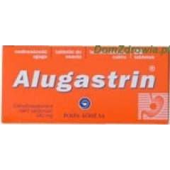 ALUGASTRIN 340 MG 40 TABLETEK DO SSANIA (2 BLISTRY PO 20 TABLETEK)