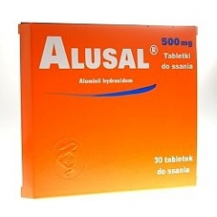 ALUSAL 500 MG, 30 TABLETEK DO SSANIA