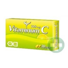Vitaminum C 100 mg, 50 tabletek