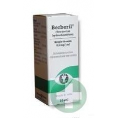 BERBERIL 0,5 MG/1 ML KROPLE DO OCZU 10 ML