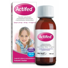ACTIFED, SYROP 100 ML