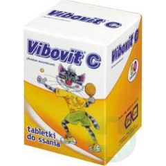 VIBOVIT C 50 MG TABL. DO SSANIA *50 TABL.