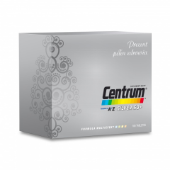 Centrum Kompletne od A do Z Silver 50+, 100 tabletek