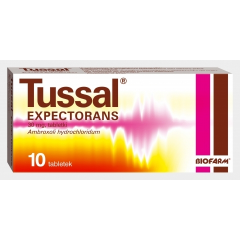 TUSSAL EXPECTORANS 30 MG, 10 TABLETEK
