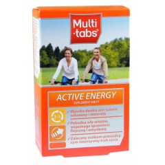 MULTI-TABS ACTIVE  ENERGY 60 TABLETEK