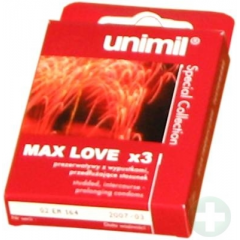 UNIMIL SPECIAL COLLECTION MAX LOVE 3SZT.