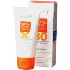 VICHY CAPITAL SOLEIL KREM IP 30  50 ML + TORBA PLAŻOWA