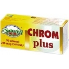 Chrom Plus Naturell, 200 mcg, 50 tabletek