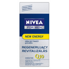 NIVEA FOR MEN - REGENERUJĄCY KREM Q10 (ENERGY)  50 ML