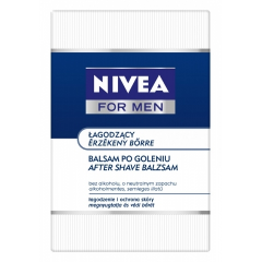 NIVEA FOR MEN - ŁAGODZĄCY BALSAM PO GOLENIU (SENSITIVE) 100 ML