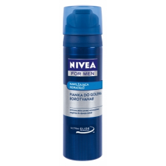 NIVEA FOR MEN - NAWILŻAJĄCA PIANKA DO GOLENIA (MILD) 200 ML