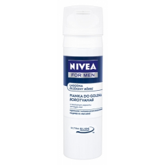 NIVEA FOR MEN - ŁAGODNA PIANKA DO GOLENIA (SENSITIVE) 200 ML