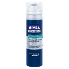 NIVEA FOR MEN - PIANKA DO GOLENIA TWARDEGO ZAROSTU 200 ML