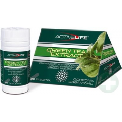 ACTIVELIFE GREEN TEA EXTRACT 30 TABL.