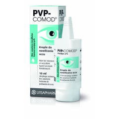 PVP-COMOD, KROPLE DO OCZU 10 ML