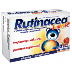 Rutinacea junior, 20 tabletek do ssania