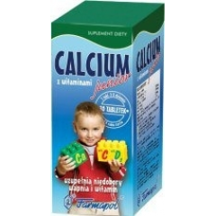 CALCIUM JUNIOR Z WITAMINAMI 60 TABLETEK