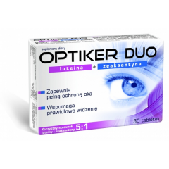 OPTIKER DUO 30 TABLETEK