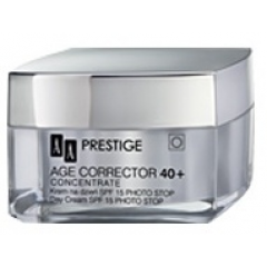 AA PRESTIGE AGE CORRECTOR CONCENTRATE 40+ - KREM NA DZIEŃ SPF 15 PHOTO STOP