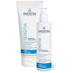 IWOSTIN SENSITIA ŻEL DO MYCIA HYPOALERGICZNY 300 ML