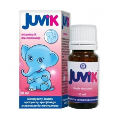 JUVIK KROPLE DOUSTNE 10 ML