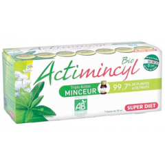 SUPER DIET ACTIMINCYL BIO BUTELECZKI, 7 FIOLEK x 30 ML