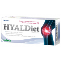 Hyaldiet, Płyn, 14 fiolek po 10 ml
