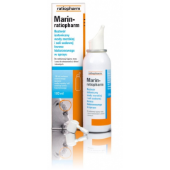MARIN - RATIOPHARM AEROZOL DO NOSA I USZU 100 ML
