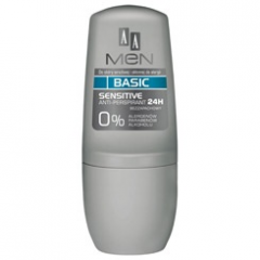 AA Men Basic Deo Sensitive, Antyperspirant, 50 ml