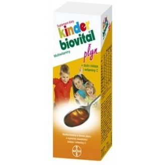 KINDER BIOVITAL  PŁYN MULTIVITAMINA 650 ML