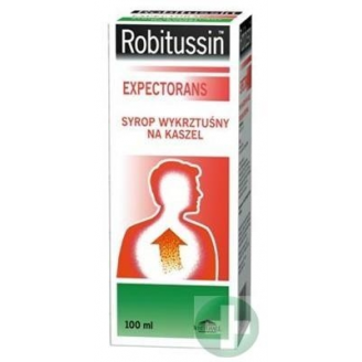 ROBITUSSIN EXPECTORANS 0,1 G/5 ML SYROP 100 ML