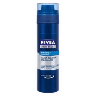 NIVEA FOR MEN - NAWILŻAJĄCY ŻEL DO GOLENIA (MILD) 200 ML
