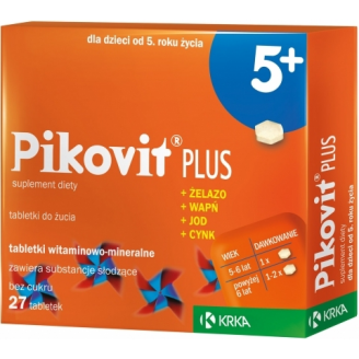 PIKOVIT PLUS 30 TABLETEK DO ŻUCIA