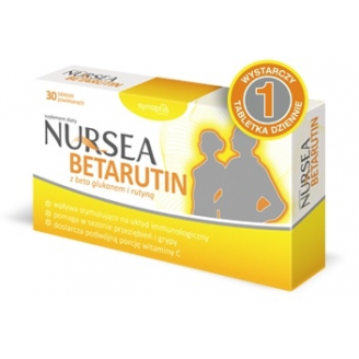 NURSEA BETARUTIN 30 TABLETEK